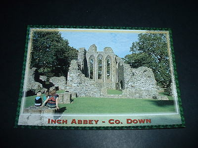 NORTHERN IRELANDS  POSTCARD  INCH ABBEY Co DOWN