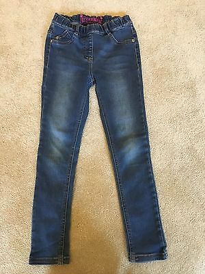 Girls Next blue jean jeggings age 7 years