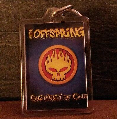 The Offspring - 'Conspiracy Of One' skull keyring