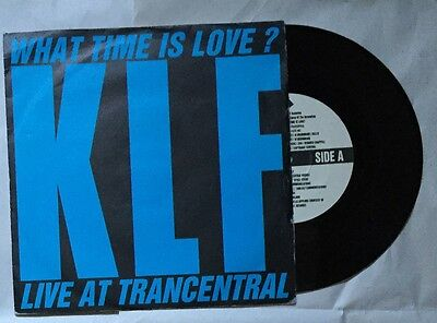 """KLF - What Time is Love 7"""" Vinyl"""