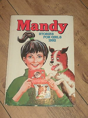 Vintage Mandy Stories For Girls Annual Dated 1992