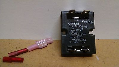*NEW LOT OF 2* OMRON Relay G3NE-210T-US 24VDC  P165