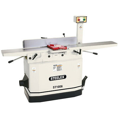Steelex ST1006 8-Inch Jointer with Mobile Base and Parallelogram Adjustable Beds