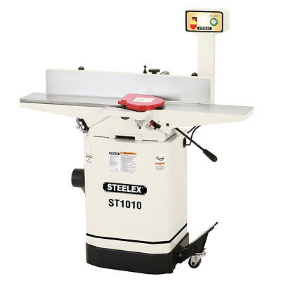 Steelex ST1010 6-Inch Heavy Duty Jointer with Mobile Base and Pedestal Switch