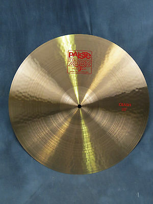 Paiste 2002 Series 20'' Classic Crash Cymbal - Excellent Used Condition
