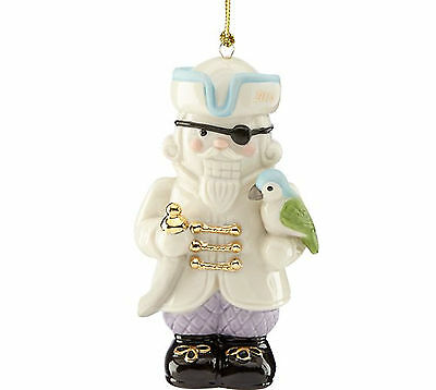 Lenox 2016 Ahoy Matey Pirate Nutcracker Ornament
