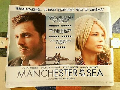 Manchester By The Sea - 2016 Original Uk Quad Film Poster