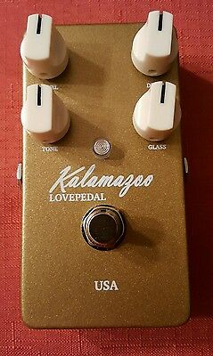 Lovepedal Gold Kalamazoo Overdrive Guitar Effect Pedal