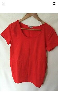 Maternity Top Tee shirt Maternity Clothes Size 14