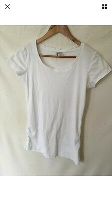 Maternity Top Tee shirt Maternity Clothes Size 10