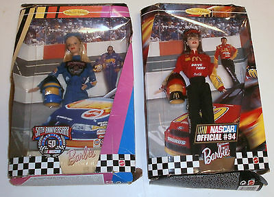 2 Barbie NASCAR / 50 th Anniversary, 1998, # 20442 / Offical # 94, 1999, #22954