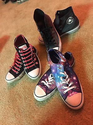 Converse Mixed Lot Men's/women's Shoes Chuck Taylors