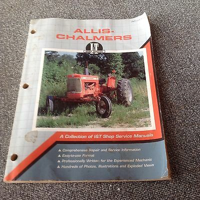 Allis Chalmers IT Shop Service Manual Collection Of Tractors Service Manuals