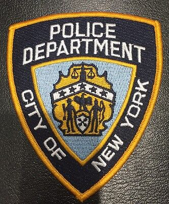 NYPD Badge Patch - Official And Brand New