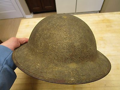 US WW1 Helmet With Original Liner And Strap, Dough Boy