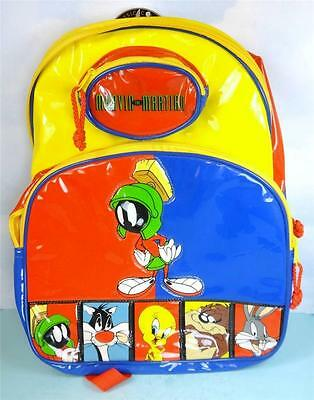 Looney Tunes MARVIN the MARTIAN Colorful Vinyl Backpack