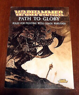 Warhammer Fantasy Battles Path to Glory Chaos warbands book 2002 Games Workshop