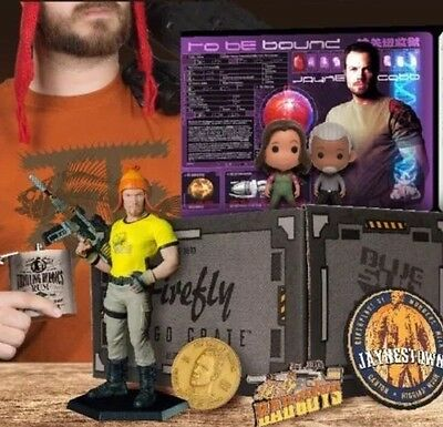 FIREFLY Loot Crate #2 MAY CRATE COMPLETE BOX Jayne Cobb Size S Ready To Ship