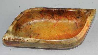 Ancient Chinese jade carved  jade Brush Washer