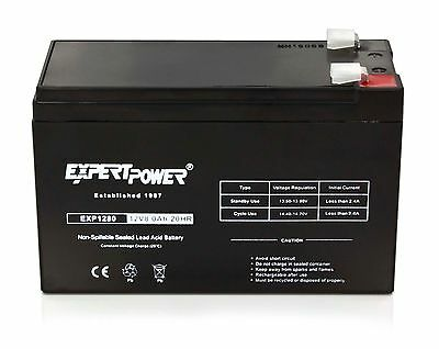 ExpertPower 12V 8Ah SLA AGM Battery Replacement for APC Back-UPS Pro 1300/1500