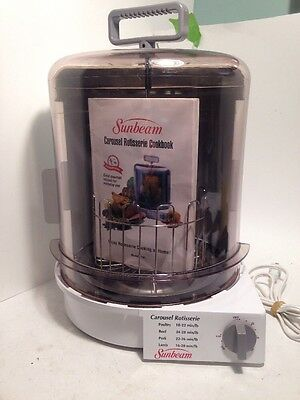 Sunbeam Carousel Rotisserie with User Manual