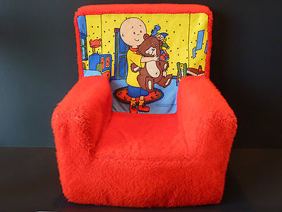 Caillou Kids Cozy Foam Child Toddler Chair
