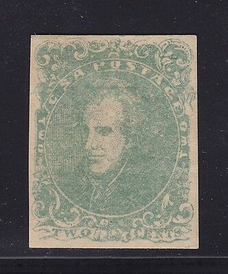 CSA 3 VF+ original gum previously hinged with nice color cv $ 950 ! see pic !