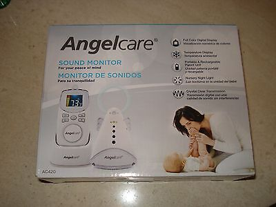 New Angel Care AC420 Baby Sound Monitor Full Color Digital Display