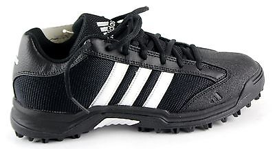 New In Box Women's ADIDAS Black Leather Football Cleats Size 6