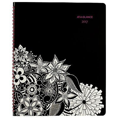 AT-A-GLANCE Weekly / Monthly Appointment Book / Planner 2017, Premium, 8-1/2 #AI