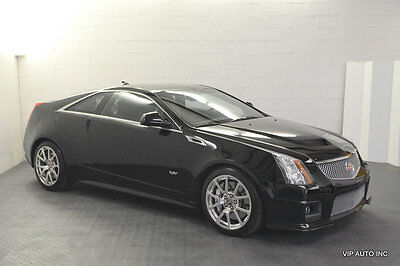 2011 Cadillac CTS 2dr Coupe CTSv Automatic Sunroof Heated Seats Ventilated Seats 15958 Miles