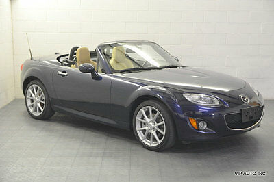 2012 Mazda MX-5 Miata 2dr Convertible Hard Top Manual Grand Touring MX5 Miata Hardtop Grand Touring Premium Package Xenon Lights Heated Seats Sat