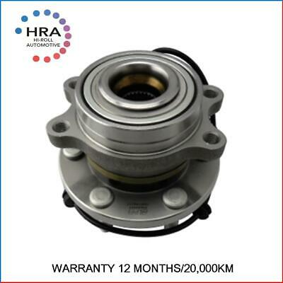 Front Wheel Bearing for Nissan NAVARA 4WD D40 ABS YD25/VQ40 Thai Prod 2005-12
