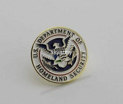 US Department of Homeland Security DHS Pin Lapel