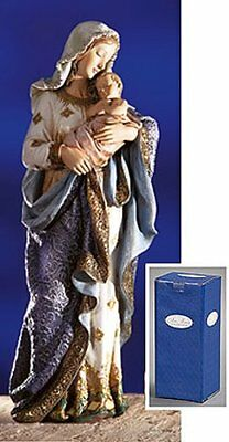 Religious 23 Inch Blessed Virgin Mary Madonna and Infant Jesus Christ Child Chur