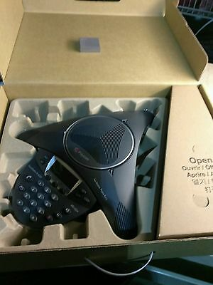 Polycom IP 6000 Conference Phone 2201-15600-001 Brand New