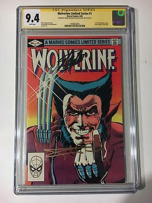 Wolverine Limited Series #1 Cgc Ss 9.4 Stan Lee Frank Miller