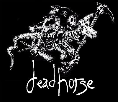 "deadhorse Long Sleeve Vintage Style ""Death Rides a Dead Horse"" Winter 2017"