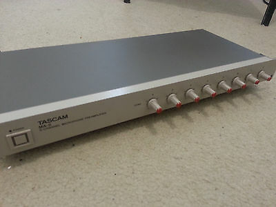 Tascam MA-8 8 channel Microphone Preamp #2