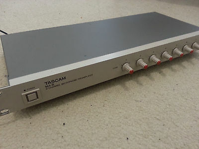 Tascam MA-8 8 channel Microphone Preamp #3