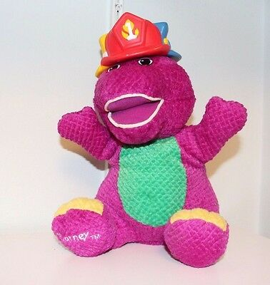 Barney the Purple Dinosaur SILLY HATS Singing Dancing Interactive Plush Toy