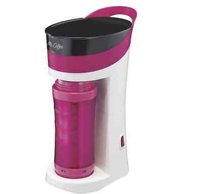 Mr. Coffee® Pour! Brew! Go! Personal Coffeemaker and To-Go Mug, Pink