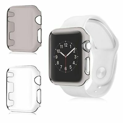 For Apple Watch Series 2 3 Ultra Thin Clear Hard Protective Case Cover 38mm/42mm