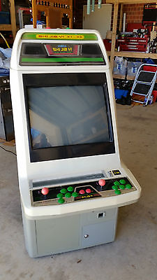 upright games cabinet