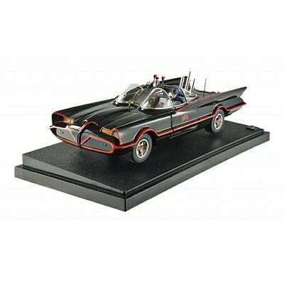 Hot Wheels - 1:18 Classic 1966 TV series Batmobile with figures - New
