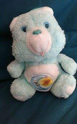 "Vintage Care Bear Bedtime Bear, Approx 7"" (Small)"