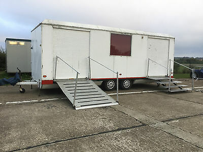 Hospitality Event Trailer, Marquee, Photo Exhibition Unit Mobile Office