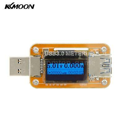 10V 2.0A USB 3.0 Blue OLED Charger Voltage Current Power Capacity Meter Y1N2