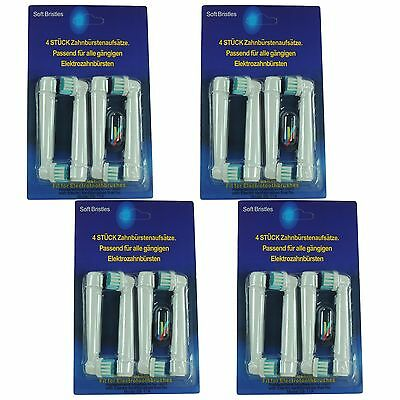 16PCS Electric Brush Heads for Braun Oral-B Vitality Toothbrush Head Replacement