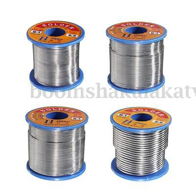 60/40 Tin lead Solder Wire Rosin Core Soldering 2% Flux Reel 0.5mm-2mm 50g-500g